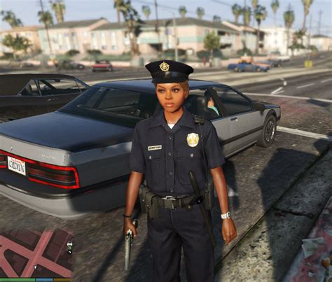 mod gta 5 cop beautiful faces for female cop gta5 mods com