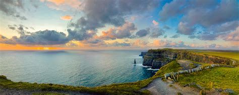artists eye ireland s west coast before sunset
