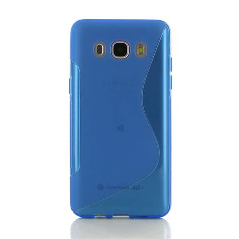 Casing Samsung Galaxy J5 2016 Softcase Bumper Motif Telephone Box samsung galaxy j5 2016 soft blue s shape pattern pdair