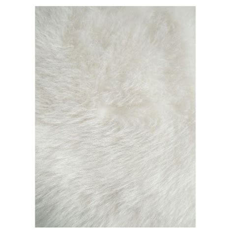 white accent rug la rug flokati white 2 ft 7 in x 3 ft 11 in accent rug