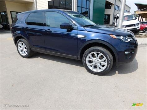 blue land rover discovery 2016 loire blue metallic land rover discovery sport hse