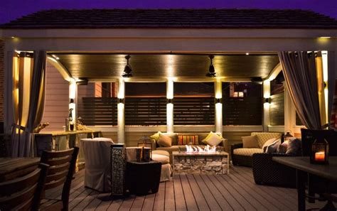 Bathroom Lighting Over Vanity Chicago Roof Deck Contemporary Deck Other Metro By