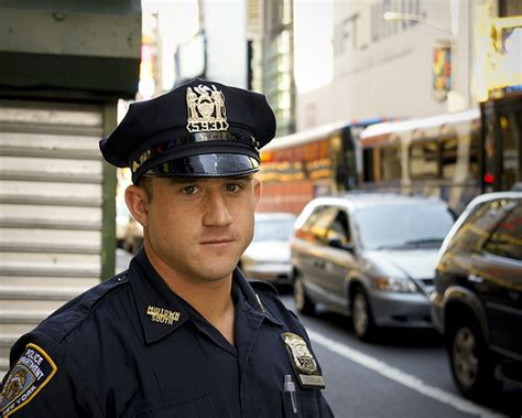 nypd officer just used it for purpose you