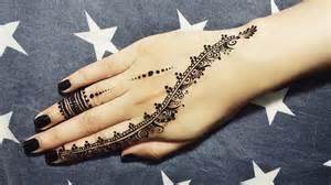 diy easy mehendi design for fingers tutorial 7 henna