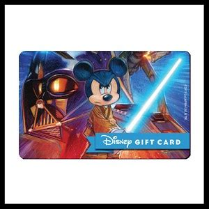 Star Wars Gift Cards - your wdw store disney collectible gift card star wars 2015 jedi logo
