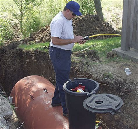 can a propane tank be buried? fine homebuilding