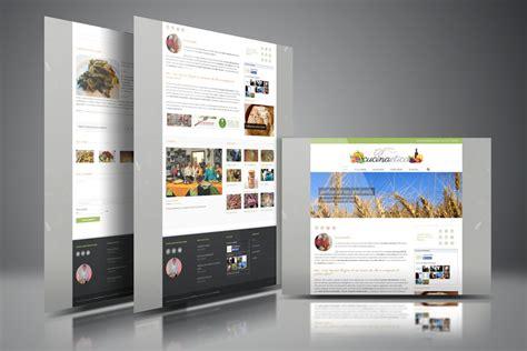 la cucina etica unoduedesign siti grafica immagine coordinata