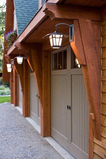 garage door overhang garage overhang  lights house