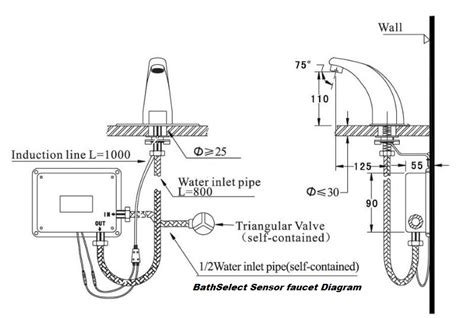 bathroom faucet installation instructions hands free sensor faucets hands free automatic faucets