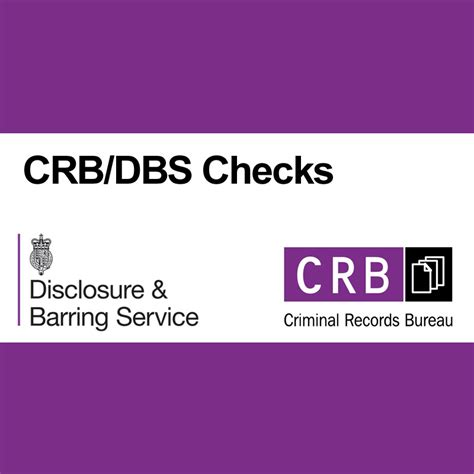 A Criminal Record And Need A Crb Dbs Criminal Record Check Application
