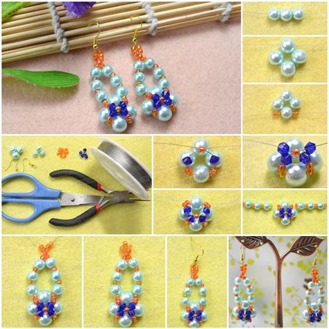 Handmade Beaded Earrings Designs - bead earring designs handmade 28 images best 20