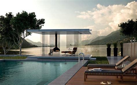 pavillon umbauen rundum transparent quot pavillon 360 quot glas marte bild 2