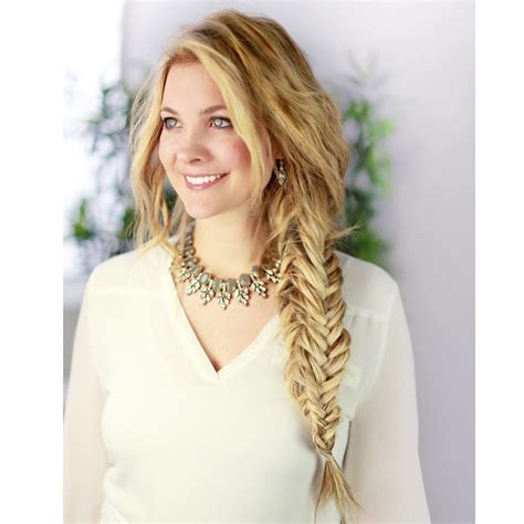easy hairstyles with box fishtales boxed fishtail braid popsugar beauty