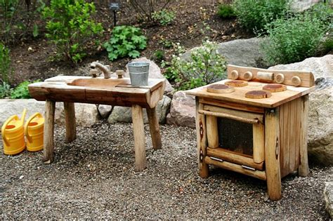 childrens wooden kitchen furniture top 20 of mud kitchen ideas for garden ideas 1001 gardens