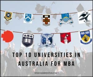 Mba Programs In Australia by Assignment Help Myassignmenthelp Net