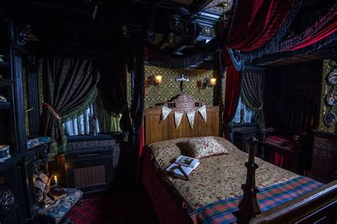 haunted mansion bedroom 6 creepy halloween airbnb rentals around the world