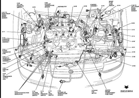 2000 mercury villager parts diagram wiring diagram for free