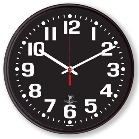 Extra Large Wall Clock by Low Vision Clocks Talking Clocks Voice Activated Clocks