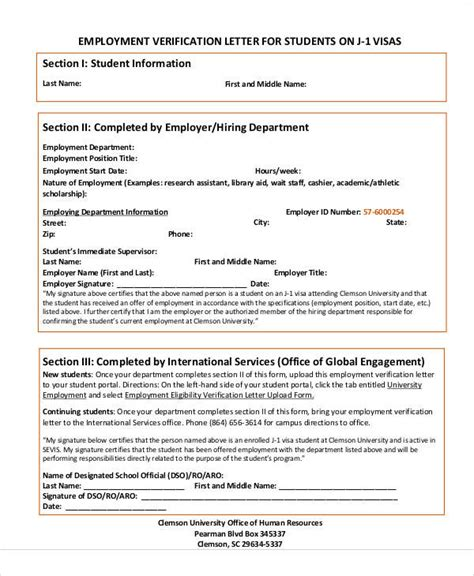 Visa Letter Proof Employment employment verification letter for independent contractor