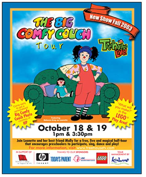 big comfy couch website posters by amber routten mitchell at coroflot com