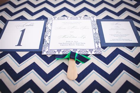 Emerald Navy modern emerald and navy wedding every last detail
