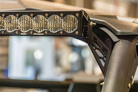 rigid light bar mounts utv inc can am maverick x3 rigid baja designs 40 quot led