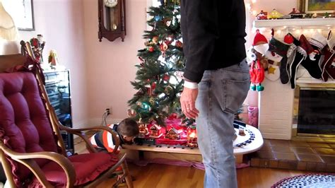 eisenbahn unterm weihnachtsbaum youtube