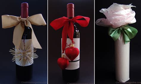 hostess gifts catherine schager designs - Wine Bottle Gift Wrapping