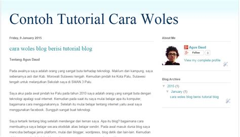 membuat menu navigasi website cara membuat menu navigasi di blogger qodia