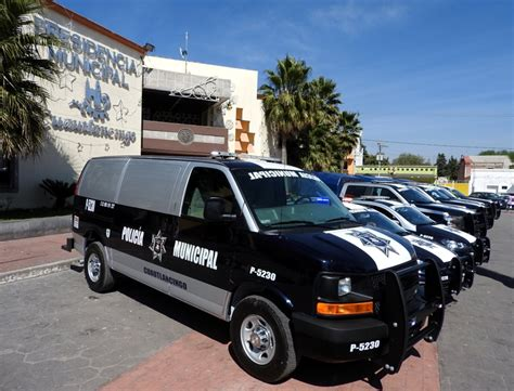 cabecera municipal cuautlancingo adquiere 6 patrullas para vigilar cabecera