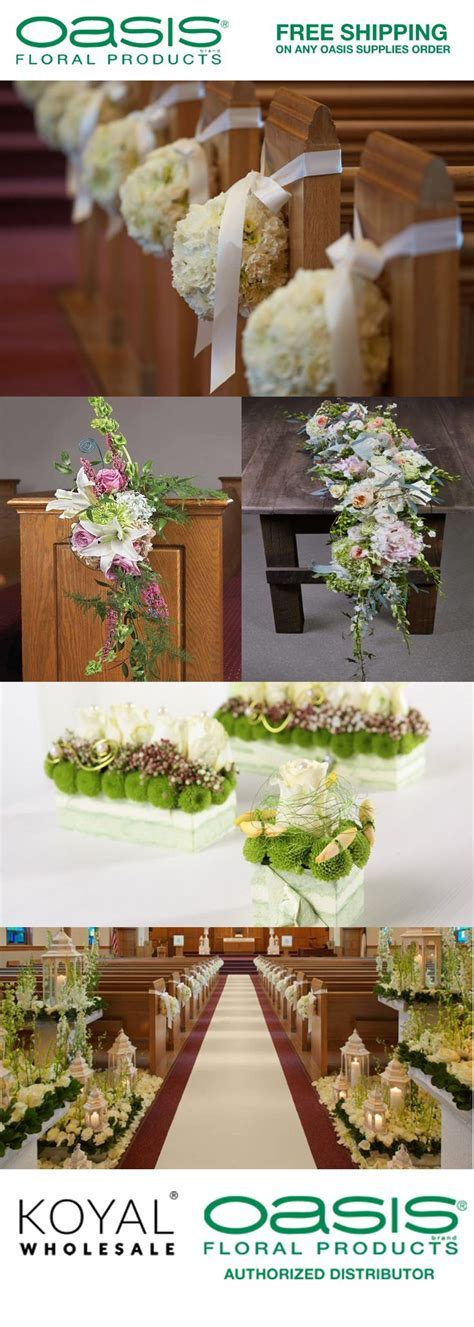 Wholesale Oasis Wedding Flower Supplies for DIY Brides