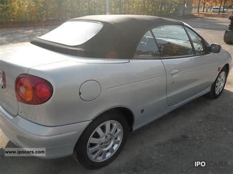 2002 Renault Megane Cabriolet 1 6 Expression Car Photo