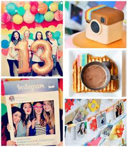 Favors For 13 Year Birthday by Kara S Ideas Glam Instagram Themed 13th Birthday