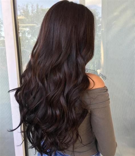 chocolate colored hair 60 chocolate brown hair color ideas for brunettes