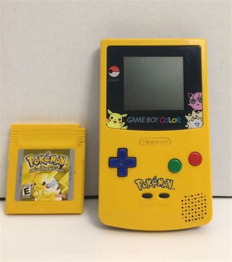 gameboy color pikachu edition best 25 pikachu ideas on