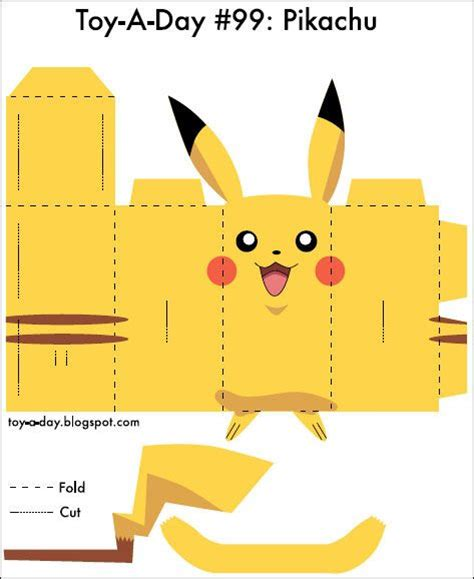 How To Make A Paper Pikachu - the world s catalog of ideas