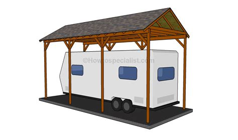 carport building plans how to build a wooden carport howtospecialist how to