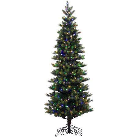 led tree lights walmart vickerman pre lit 7 5 instant royal artificial