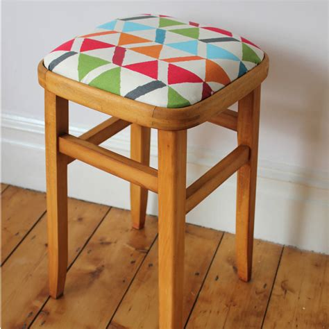 retro wooden stool retro wooden stool by deja ooh notonthehighstreet