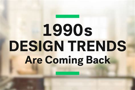 home design ideas 90s decor coming back surprise 1990s design trends are coming back huffpost