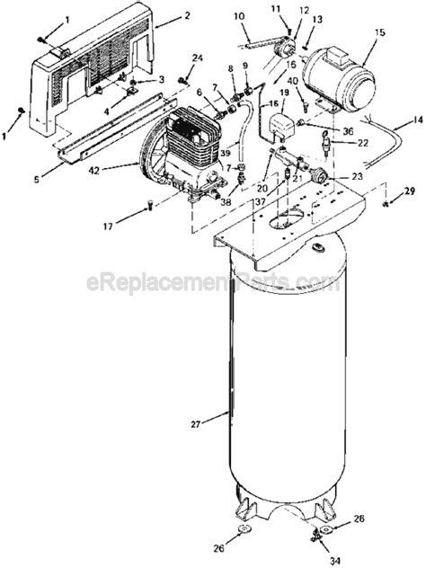 ingersoll rand air compressor parts diagram wiring diagram for ingersoll rand air compressors 49