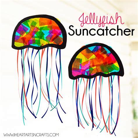 suncatcher craft suncatcher jellyfish craft i arts n crafts