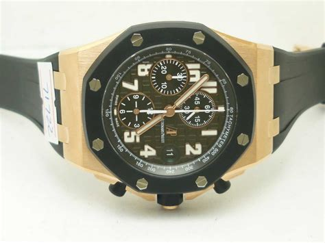 Audemars Piguet Clone Ap Rubber Clad audemars piguet royal oak offshore gold replica rubber clad spot on replica