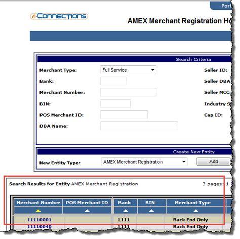 Merchant Id Lookup Amex Merchant Registration Search