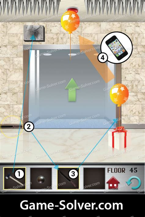100 Floors Level 45 Solver