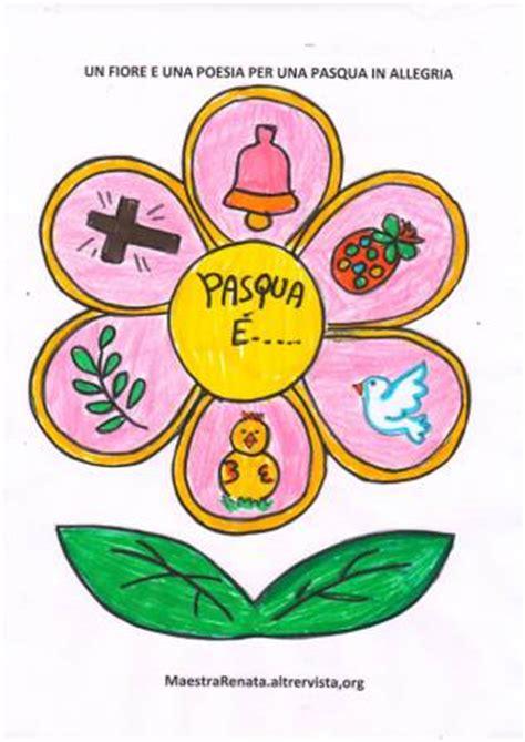 poesia fiori festa di pasqua in allegria con un fiore e una poesia