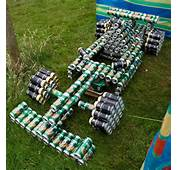 A Beer Can Race Car  Cans Art Creative Uses Quick