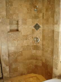 Tile Shower Ideas For Small Bathrooms by Tiled Shower Ideas Like The Idea Of The Seat In The