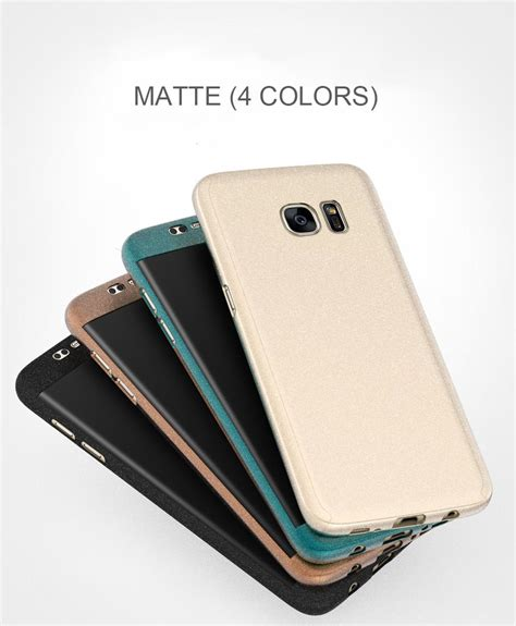 Sale Softcase Black Matte Samsung Galaxy S7 front back cover matte for samsung galaxy