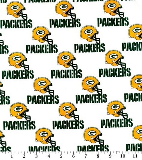 green bay upholstery green bay packers nfl cotton fabric jo ann